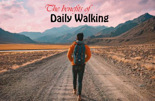 benefits of walking daily for 30 minutes