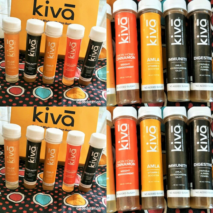 Benefits of Kiva Ayurvedic Shots