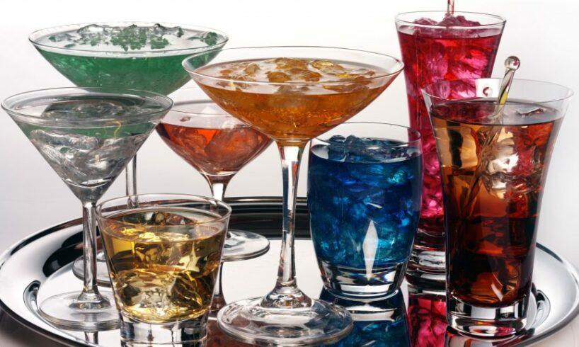5 alcoholic drinks
