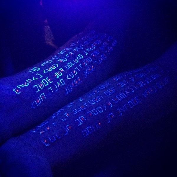 UV Tattoos & BlackLight Tattoos