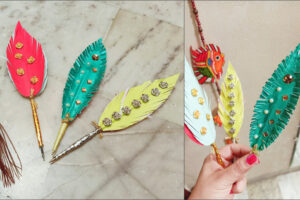 DIY Handmade Feather Pen