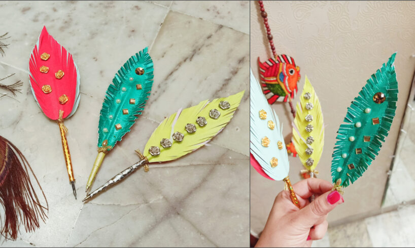 DIY Handmade Feather Pen