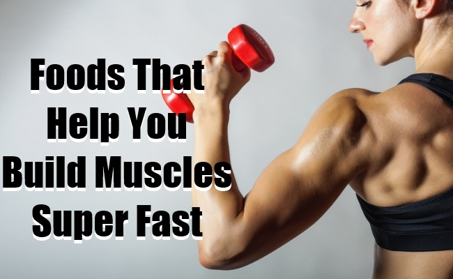 Food That Help You Gain Muscles