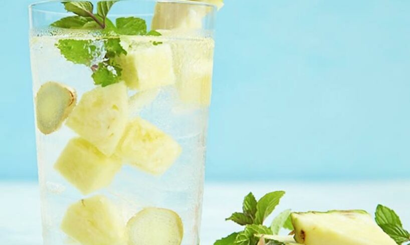 Add Pineapple to Your Water