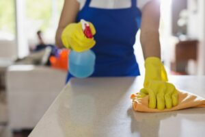 Burn Calories in Household Cleaning