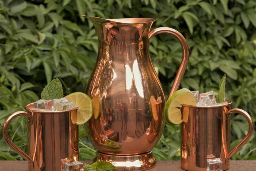 Drink Water From Copper Vessel
