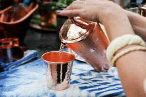 Drink Water From Copper Vessel