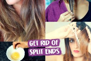 Home Remedy For Split End Hairs