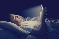 Stop Using Smartphone at Night