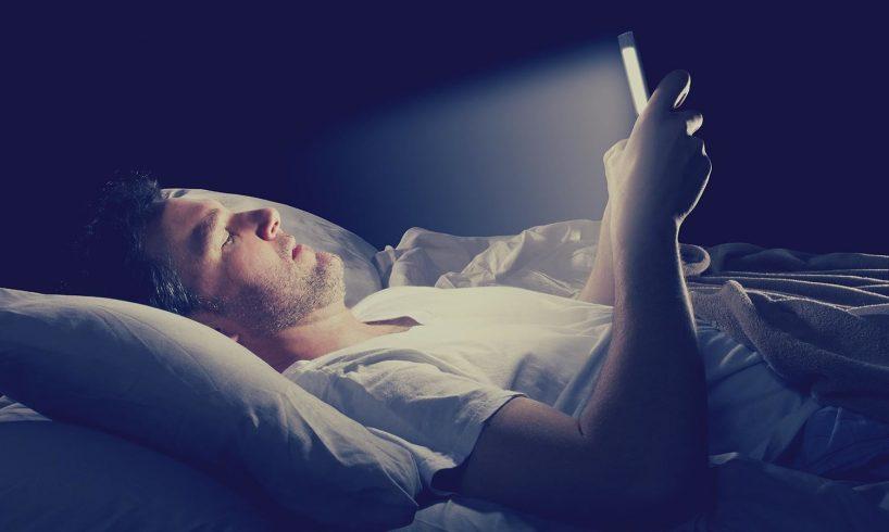 Stop Using Smartphone at Night
