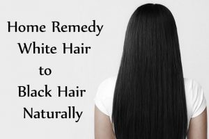 Turn White Hair To Black