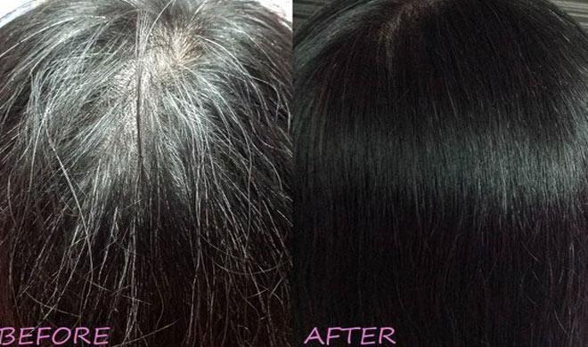 Turn White Hair To Black