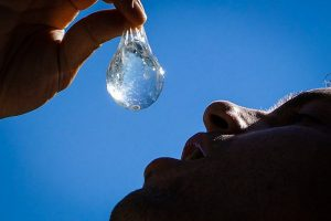 Edible Water Blob Changed Hydration
