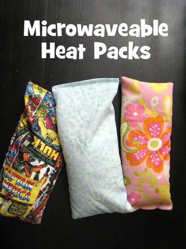 DIY Microwaveable Heating Pads