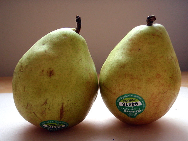 Labels On Fruits