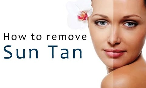 Remove Tan From Face