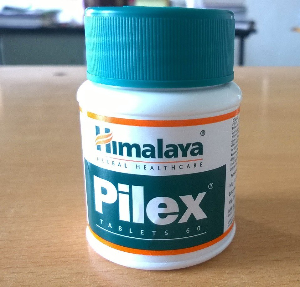 Himalaya Pilex Tablet Benefits