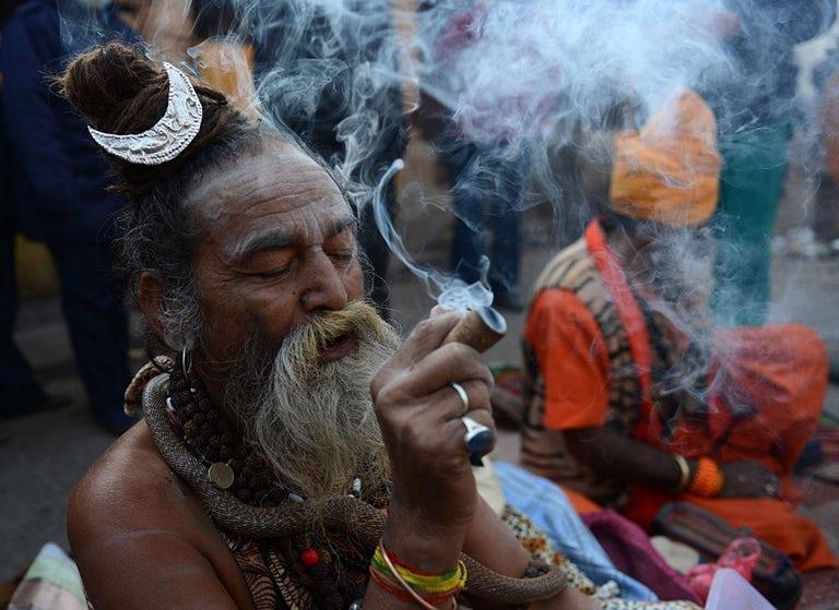 Why Lord Shiva Smoke Weed