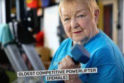 World's Oldest Powerlifter